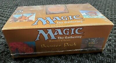 1994 Revised 3rd Edition Factory Sealed Booster Pack mtg