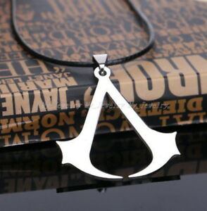 Assassins-Creed-Jewelry-Gift-Men-Boy-Unisex-Pendant-Necklace-Stainless-Steel