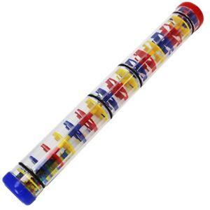 A-star Rain Stick 40 Cm-pluie Effet Sonore Bâton Multicolore Plastique Design-afficher Le Titre D'origine Lissage De La Circulation Et Des Douleurs D'ArrêT