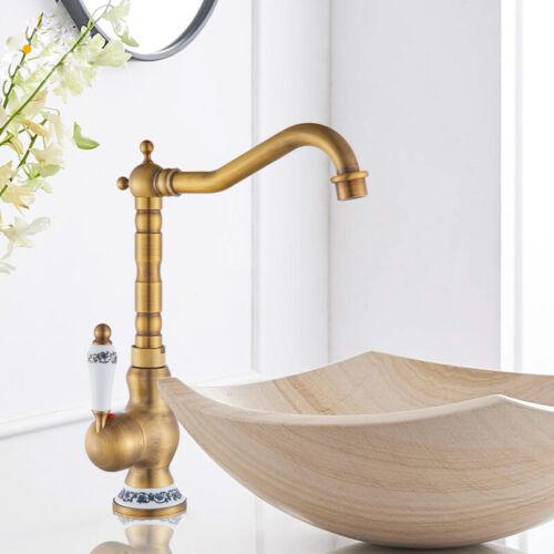 Wasserhahn Waschbecken Armatur Heißes Kaltes Wasser Einhebelmischer Keramik