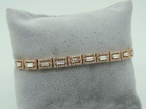 Turkish-Handmade-Jewelry-925-Sterling-Silver-Zircon-Stone-Women-Bracelet