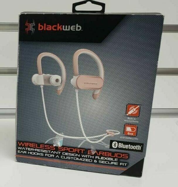 Rose Gold Blackweb Bwa18aa002 Wireless Sport Earbuds For Sale Online Ebay