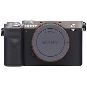 Sony Alpha a7C Mirrorless 24.2MP 4K Digital Camera Body Silver - ILCE7C/S