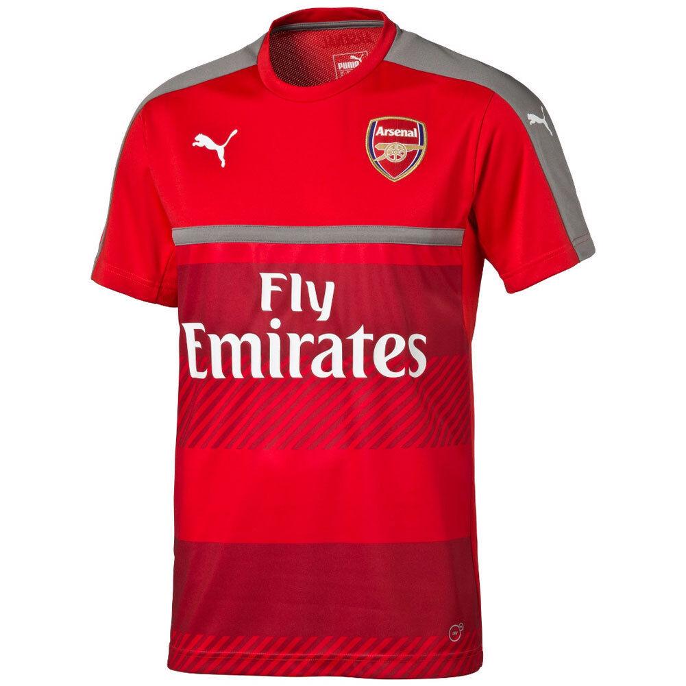 Puma Arsenal FC Official 2016 - 2017 Soccer Training Jersey  ROT / grau