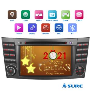 """7"""" Autoradio GPS DVD Navi DAB+ BT Für Mercedes Benz W211 E/CLS Klasse W219 W211"""