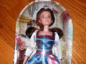 New Disney Princess Beauty The Beast Belle Barbie Doll Emma Watson 2017 Nib Ebay