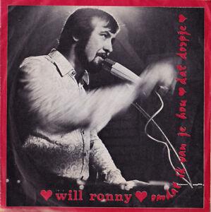 WILL-RONNY-Omdat-Ik-Van-Je-Hou-Dat-Dorpje-1971-zeldzaam-VLAAMS
