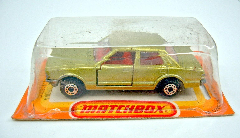 Matchbox SF Nr. 55D Ford Cortina grünmetallic in französischer französischer französischer Box  | Üppiges Design  edbf55