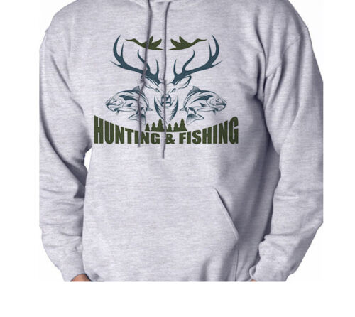 Hunting and Fishing Sport Men/'s Sweatshirt Hooded Shirt Hoodie Gift