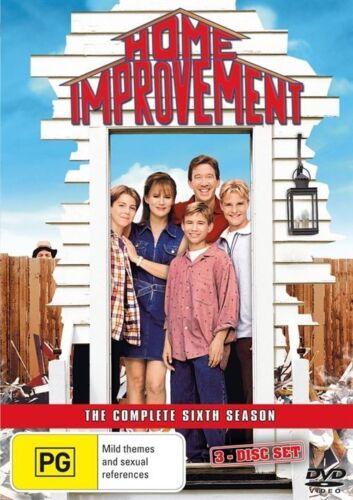 1 of 1 - Home Improvement : Season 6 (DVD, 2008, 3-Disc Set)