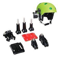 Helmet Side Mount Kit 3 Way Adjustable 3M Adhesive for Gopro Gopro Hero 5 4 3+ 3