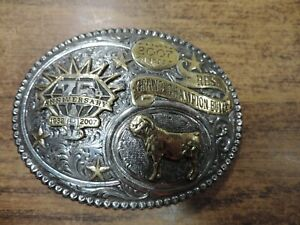 Houston Livestock Show /& Rodeo 2012 Premium Buyer Belt Buckle