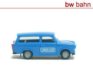 Herpa-h0-1-87-trabant-destartalado-601-combi-Landis-amp-Gyr-nuevo