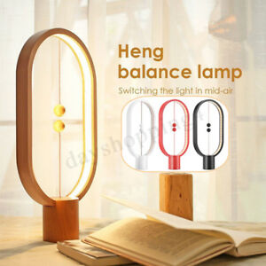 Heng-Balance-LED-Lampe-De-Table-Veilleuse-Nuit-Interieur-Lumiere-Ampoules-Noel