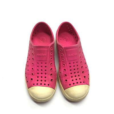 NWB Native Child/'s Kid/'s Jefferson Slip On Sneaker in Torch Red