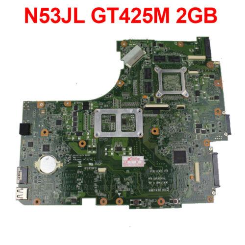 For ASUS N53J N53JL Motherboard 2 Slot GT 425M Mainboard 60-N3KMB1100-C03