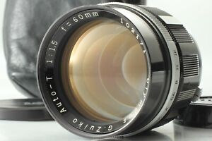 [N Mint w/Case] Olympus G Zuiko Auto T 60mm f/1.5 Lens for Pen F FT FV Japan