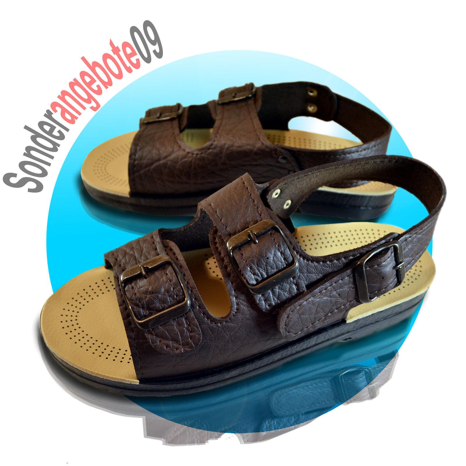 Sandalette Sandalen ZAPATOS 44 40 41 42 43 44 ZAPATOS 45 46 Latschen Jesuslatschen Römer 0ec0cd