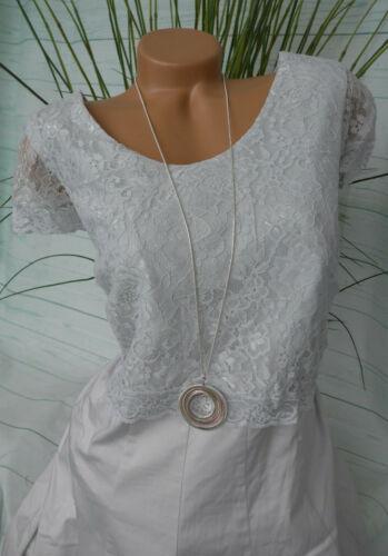 Sheego vestido Jersey vestido camisa vestido señora talla 44 hasta 48 a rayas 817