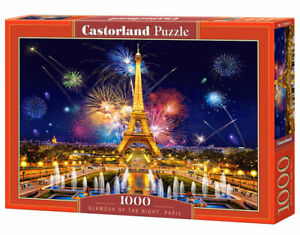 Castorland C-103997-2 - Glamour of the Night, Paris, Puzzle 1000 Pieces - New