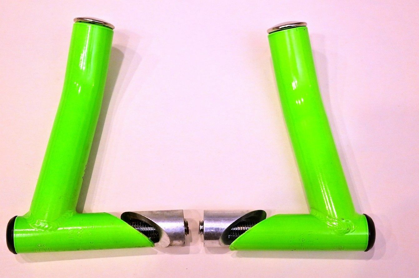 VINTAGE MTB - Onza Bar Ends Green - Retro - Old - Mountain bike