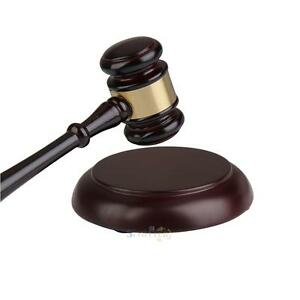 Wooden-Handcrafted-Wood-Sound-Block-amp-Gavel-Hammer-for-Lawyer-Judge-Auction-Gift