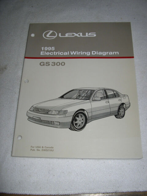 1995 Lexus Gs 300 Wiring Diagram Service Manual Shop Gs300