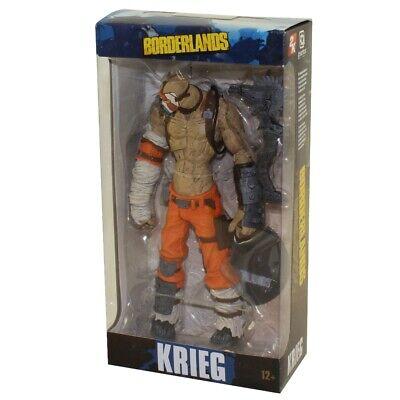 "McFarlane Toys Gearbox Software BORDERLANDS KRIEG  7/"" Action figure  MIP!"