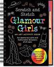 Scratch & Sketch Glamour Girls: An Art Activity Book for Glamour Girls of All Ages von Heather Zschock (2009, Taschenbuch)