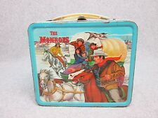 1967 The MONROES  Tv Western LUNCHBOX  Wagon train,Indians,Gun,Pistol   Cond#8