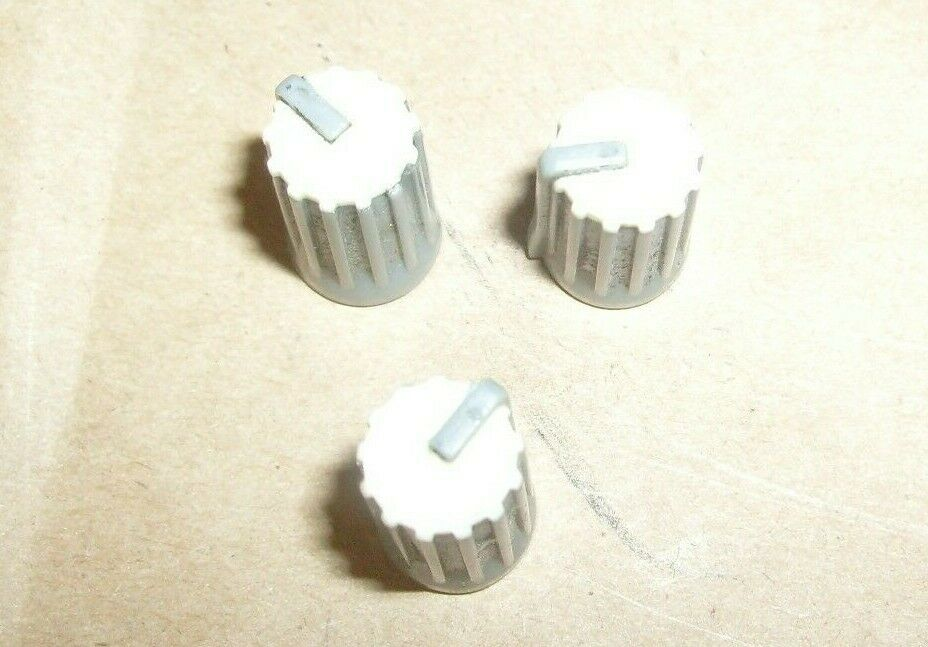 Eurorack MX 2004A 20 Channel Mixer Console Sound Board 3 LOT WHITE  KNOB KNOBS. Buy it now for 13.50