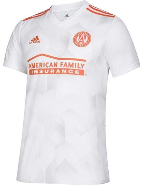 adidas Atlanta United FC Authentic Jersey Away White Orange Cd3633 ...
