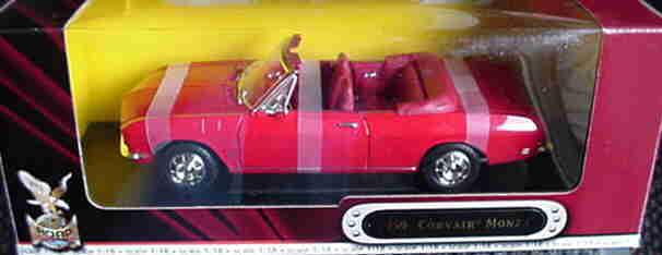 comprar barato 1969 Chevrolet Corvair Monza Monza Monza Rojo 1 18 Road Legends Yatming 92498  Envío 100% gratuito