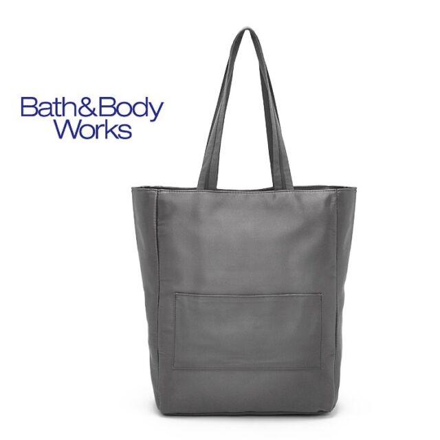 Bath Body Works Large Travel Carry Bag Shoulder HandBag Tote Purse Shopping Bag
