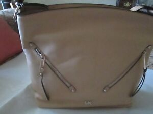 Michael-Kors-Evie-Large-Hobo-ButterCup-MSRP-298-NWT