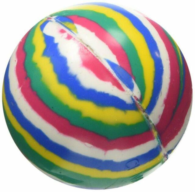 50 Count ast45 Rhode Island Novelty Assorted Super Bouncy 45 mm Balls