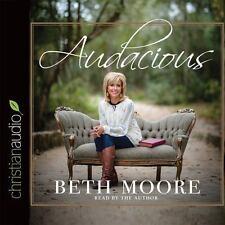 Audacious by Beth Moore (2015, CD, Unabridged)