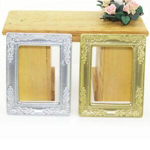 1-12-Miniature-pattern-edge-photo-frame-dollhouse-doll-house-decor-accessor