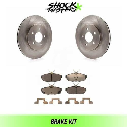 Rear Ceramic Brake Pads /& Rotors Kit for 2012 Ford Mustang