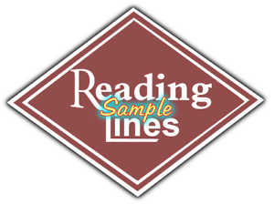 Reading Railroad Heralds Logos Vinyl Decals Sign Stickers Train Layouts