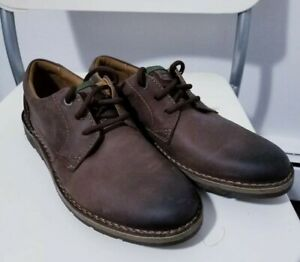 Details about CLARKS EDGEWICK PLAIN DARK BROWN LEATHER MEN'S SHOE'S SIZE: 8 12M *NEW*