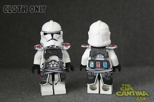 LEGO-Star-Wars-Custom-Cloth-Cape-Minifigure-Lot-of-2-Medic-Strap-Set-Clone-Wars