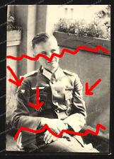 Foto-Portrait-Panzerknacker-Krimschild-DKiG-Infanterie-Offizier-Wehrmacht-