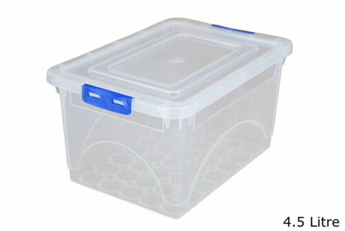 CHEAP! EVERYTHING TOY CLICK /'N/' STORE BOXES! 4 SET HANDY SIZED STORAGE BOXES!