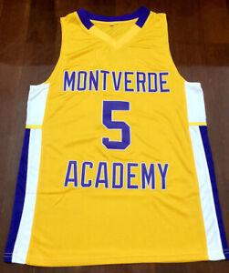RJ-BARRET-Montverde-Academy-High-School-Men-039-s-Basketball-Jersey-Double-STitched