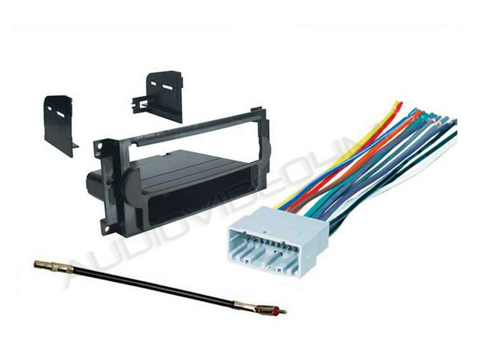 s l1600 2007 2008 dodge caliber car radio dash mounting kit stereo wire Dodge Factory Radio Wiring Diagram at gsmx.co