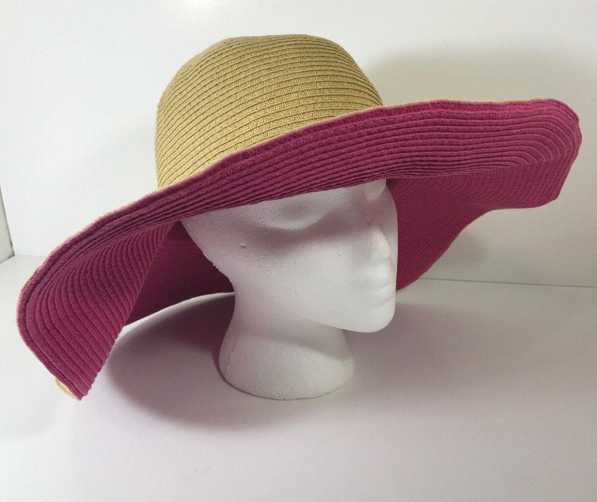 DSY Floppy Hat 100% Paper Straw Classic Straw Hot… - image 2