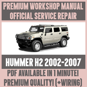 image is loading workshop-manual-service-amp-repair-guide-for-hummer-