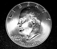 TOP SOLID GEM-BU++++ 1976-S  SILVER IKE DOLLAR (HIGH MS++++ GRADE) MUST SEE #18