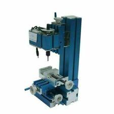 Mini Milling Machine Diy Woodworking Soft Metal Processing Lathe Fr Hobby School